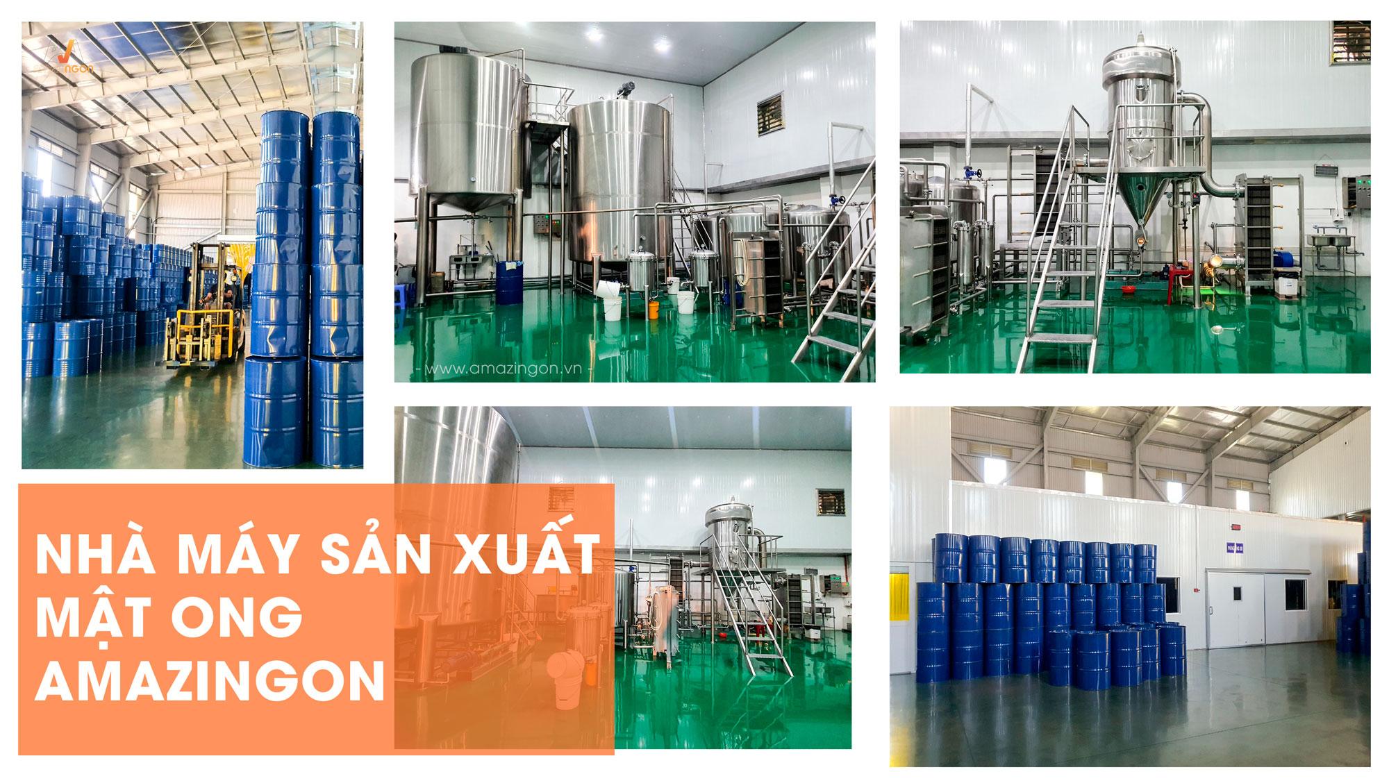 Nhà máy sản xuất mật ong AMAZINgon đạt chuẩn TCVN ISO 22000:2018 & HACCP CODEX