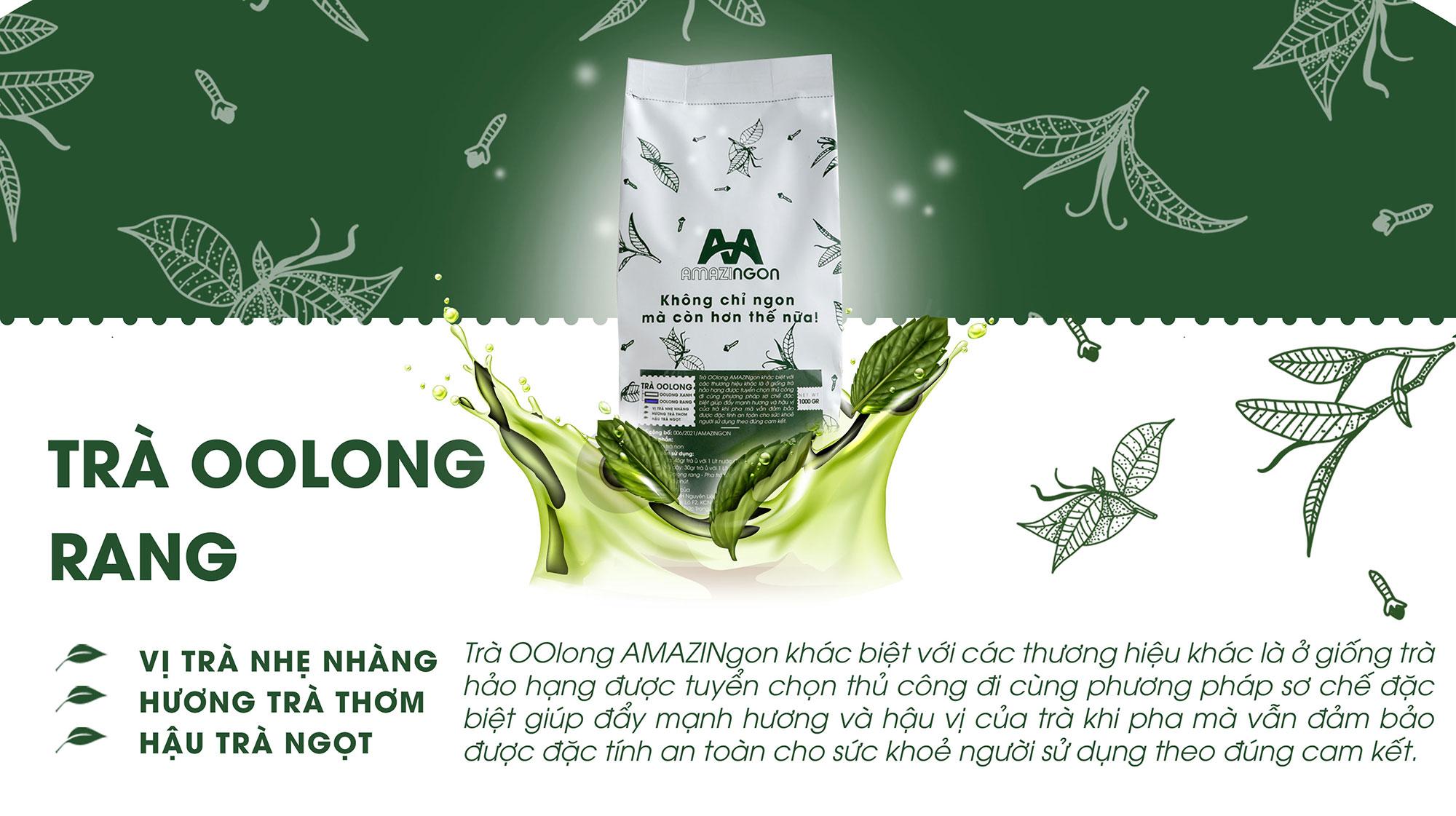 trà Oolong rang